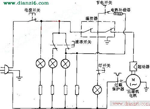 新飞牌bd-245型是冰箱电路原理图_ 电器维修