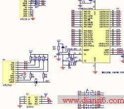 数字时钟电路原理图_多功能数字钟电路图_单片机学习_第六电子网